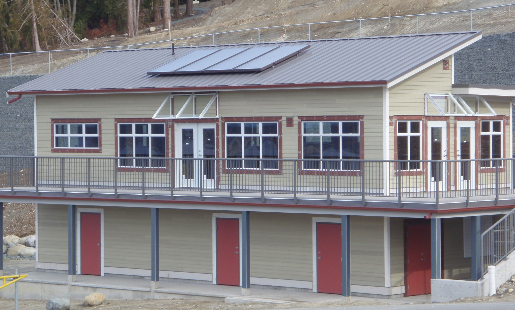 Solar Thermal Array for School Facility