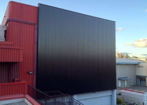 Solar Wall Air Heating